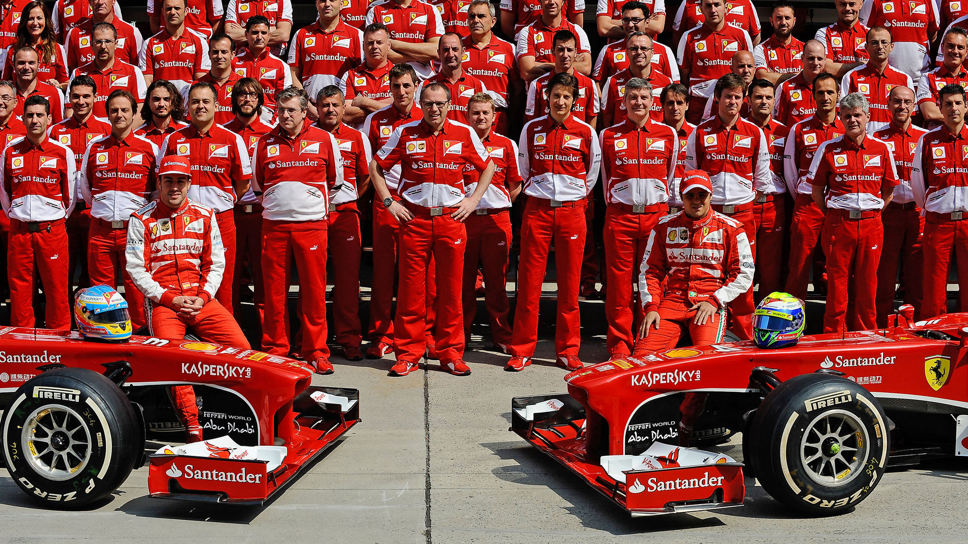 Ferrari, here is the new team