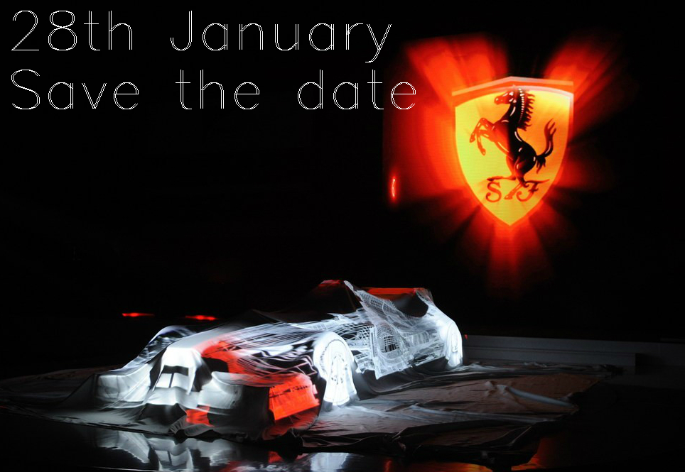 Ferrari F15: presentation on 28th or 30th January