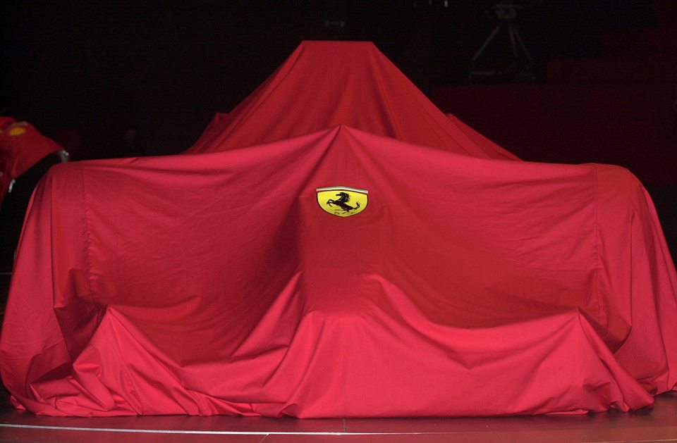 Ferrari confirms presentation the 30th of Januart