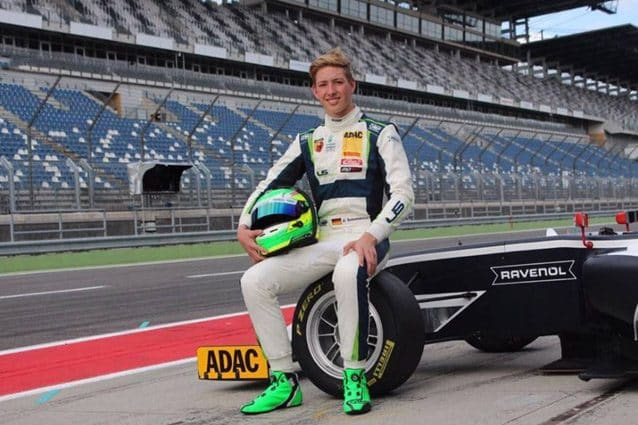 David Schumacher debutta in Formula 3 nel GP di Russia